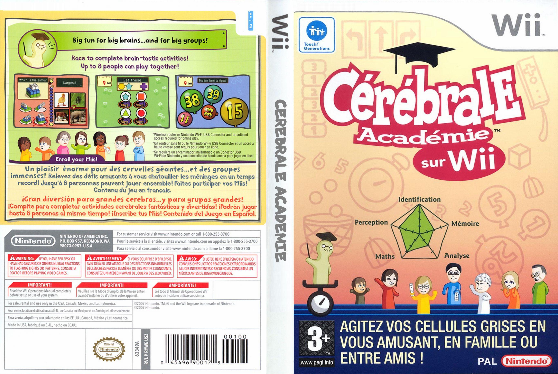 cerebral academy wii