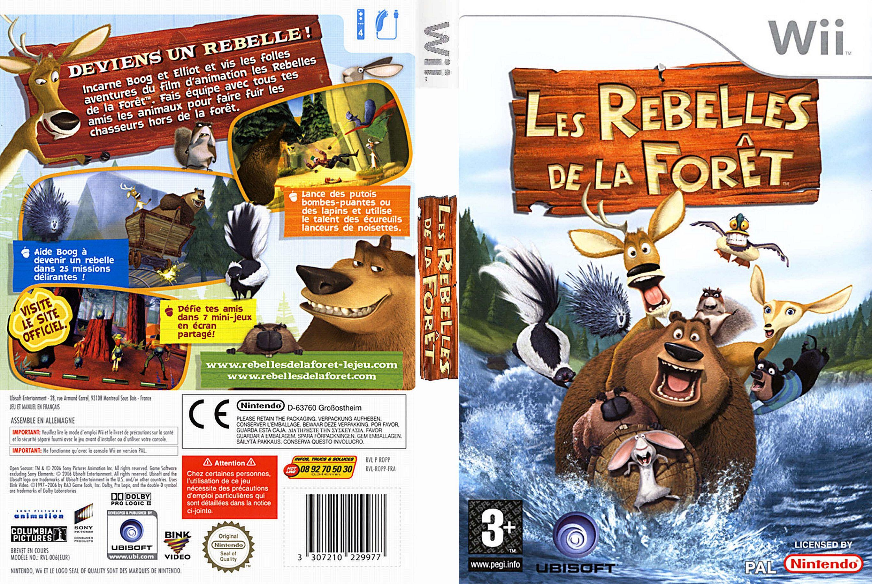 Jaquette jeux wii - Les Rebelles de la Forêt